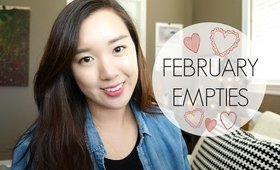 Empties: Products I've Used Up | February 2015