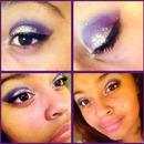 Purple sparkle eyes