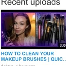 Clean those brushes!!!