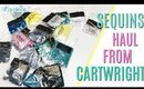 Cartwright sequins haul, Cheap Sequins Haul