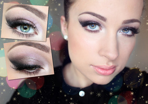 Christmas Party/New Year's Eve make up. My YT channel http://www.youtube.com/user/katOsu?feature=mhee
