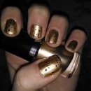 Gold with Glitter