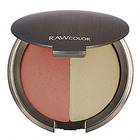 RAW Natural Beauty Raw Color Pure Harmony Cream Color and Highlighter Duo-Crushed Coral