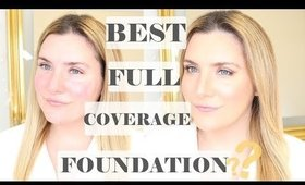 BEST FULL COVERAGE FOUNDATION FOR DRY SKIN, ROSACEA AND REDNESS ??! | MILANI FOUNDATION WEAR TEST
