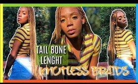 TAILBONE LENGHT |KNOTLESS BRAIDS