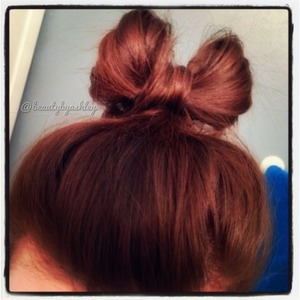 My first attempt! ☺ To see this hairstyle and more, follow me on Instagram @beautybyashley 💕