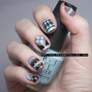 Abstract Aztec Nails