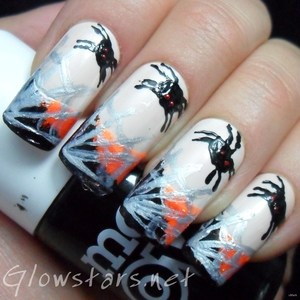 To find out more about this mani please visit http://glowstars.net/lacquer-obsession/2012/10/the-digit-al-dozen-does-halloween-spiderwebs