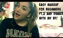 MAKEUP FOR BEGINNERS #2 AND DINNER WITH MY BF! // VLOGMAS 2015 // DAY 11-12