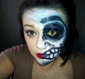 Makeup look I did last year.