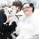 Me My New Hubby And My Chihuahua Eddie!