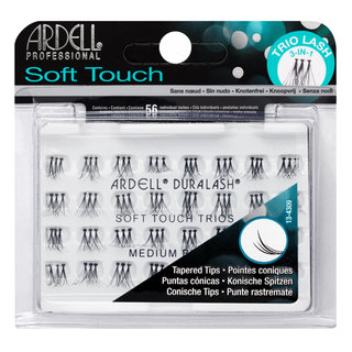 Soft Touch Trio Individuals Knotted Medium Black