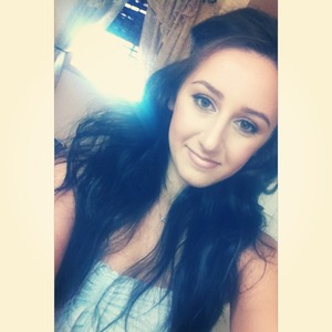 Summer makeup and hair look!