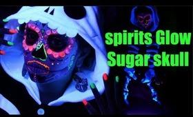 Spirits Glow Sugar Skull Makeup Tutorial