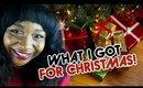 What I Got For Christmas 2014 | CloseupwithKamii