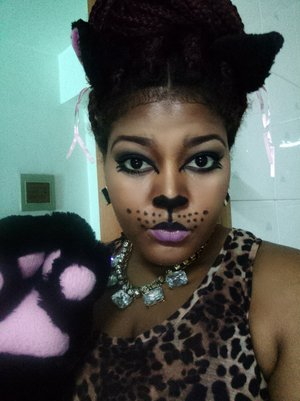 i know its a late post. my halloween look