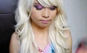Nicki Minaj ♡ Makeup I Wore to #PinkFridayRELOADEDTour Auckland!