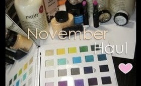 November Haul - MAC, Sephora & Ben Nye