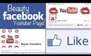 Beauty Youtuber Facebook Page!