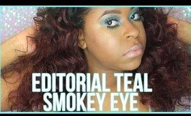 Editorial Teal Smokey Eye | LoveBeautista | 2016