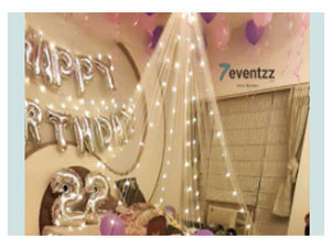 Get decor services like balloon decoration, flower decoration, party planning and event decor under one roof at reasonable prices here. To hire birthday party organisers in Kolkata, go to this website https://www.7eventzz.com/kolkata/category?cat=birthday