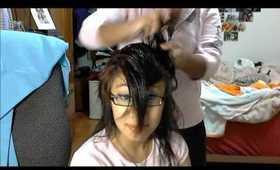Wavy/Scruched Hair