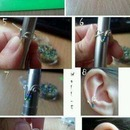 How to do an ear cuff