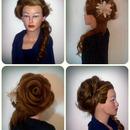 My Hair Rose Creation