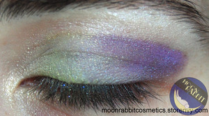 How about a quick EOTD using some colors from the upcoming fall collection? http://moonrabbitcosmetics.storenvy.com/  Blog: http://jessbeez.blogspot.com/2012/09/moon-rabbit-cosmetics-special-force.html
