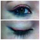 Blue And Pink Eye Liner