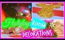 DIY Holiday Room Decor: Easy & Cheap   Christmas 2014