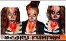 Scary Pumpkin Halloween Makeup 2013