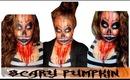 Scary Pumpkin Halloween Makeup 2013