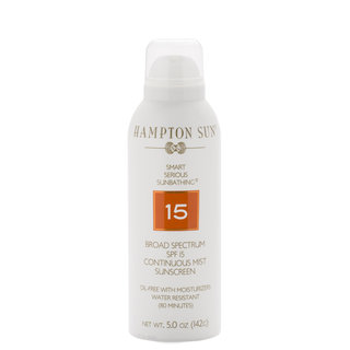SPF 15 Continuous Mist Sunscreen