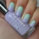 Minty Lilac Gradient