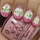 Pretty cupcake nails!!