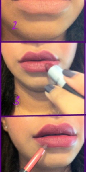 a step by step tutorial to ensure that your rich lipstick lasts long without feathering or smearing. More details at http://abeautywithbrains.com