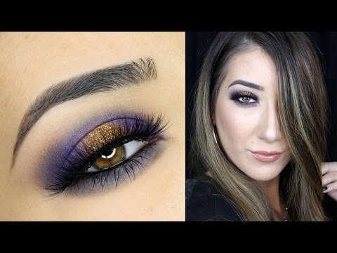db3a57653e8 Purple and Gold Smokey Eye Makeup Tutorial | Anastasia Beverly Hills  Self-Made Palette