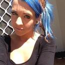 Blue hair, vixen fudge