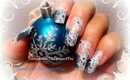Easy Winter Star Nail Art Design for Beginners, Tutorial - ♥ MyDesigns4You ♥
