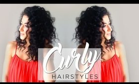 Easy and Cute Hairstyles For Curly Hair