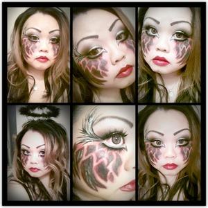 Dark Angel look for Halloween 2012