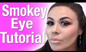 How To: Maroon Smokey Eye Makeup Tutorial