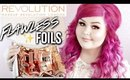 Makeup Revolution Flawless Eye Foils | How To + Swatches