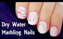 Dry Water Marbling Nails (No Mess)