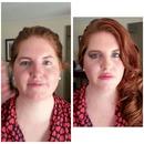 Red head makeup