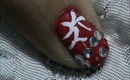 Cute Rhinestone Tip Nail design tutorials- easy Nail art For short nails and beginners