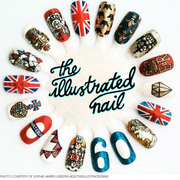 Celebrating The Diamond Jubilee With A Royal Nail Salon Beautylish