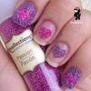 Microbead Heart Nails