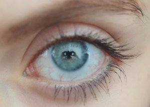 This is just a close up shot of my eye without any makeup.